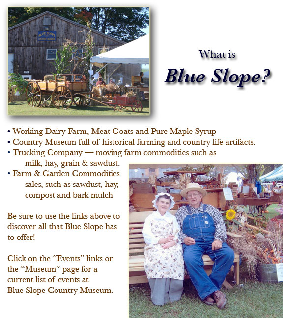 Blue Slope home page